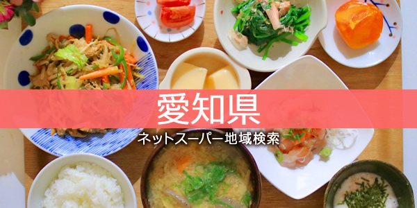愛知県・ネットスーパー地域検索